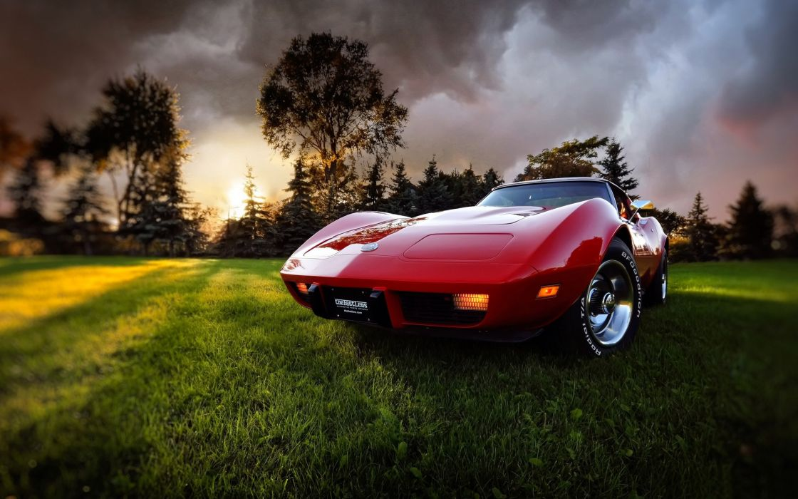Chevrolet Corvette Retro wallpaper