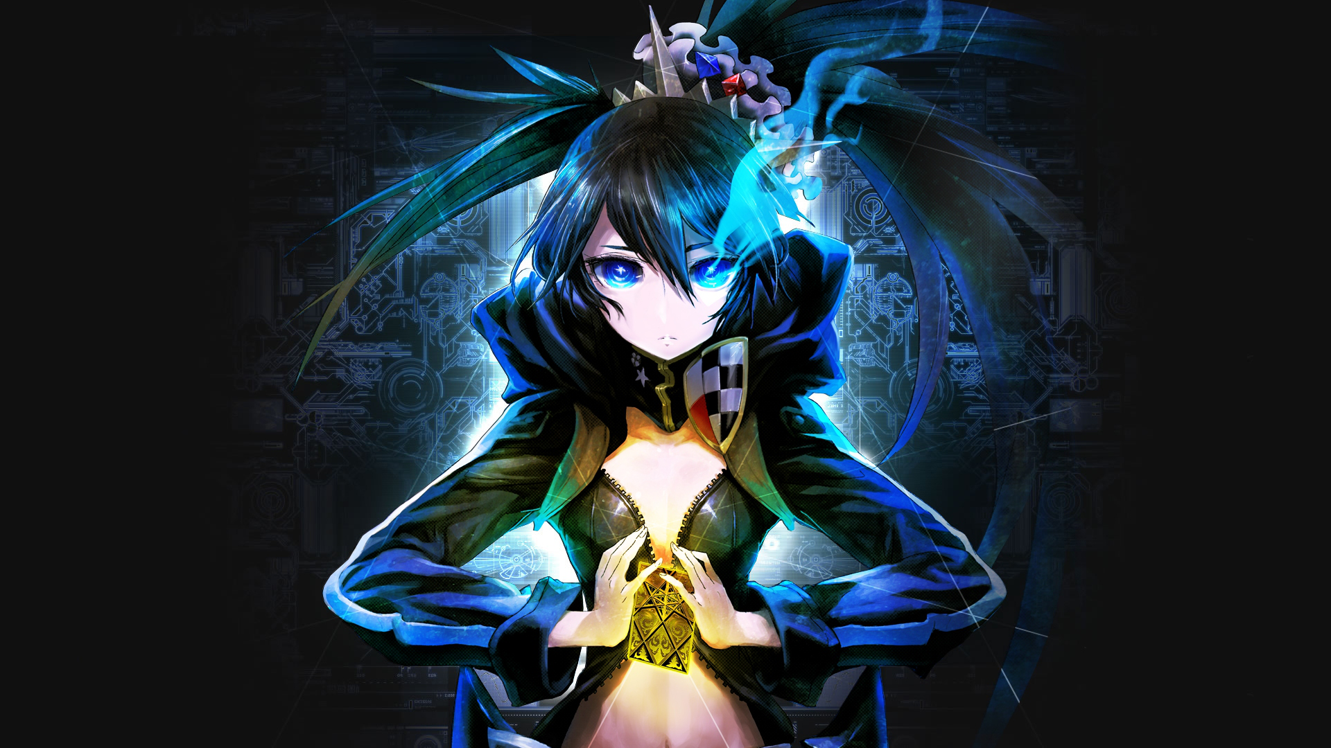 Black rock shooter anime wallpaper 1920x1080 69610 - 1920x1080 wallpapers anime ...