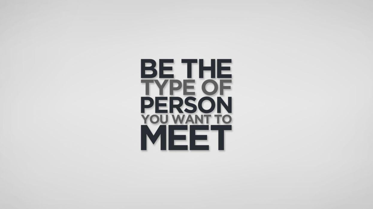 Meet Person wallpaper
