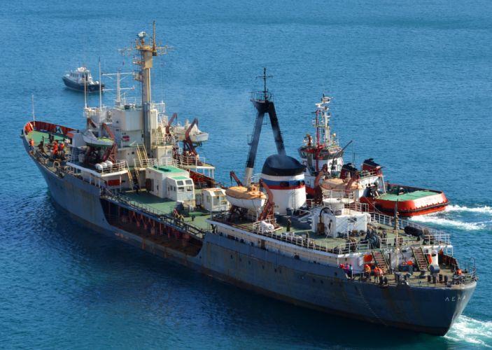 Ships Lena tanker wallpaper