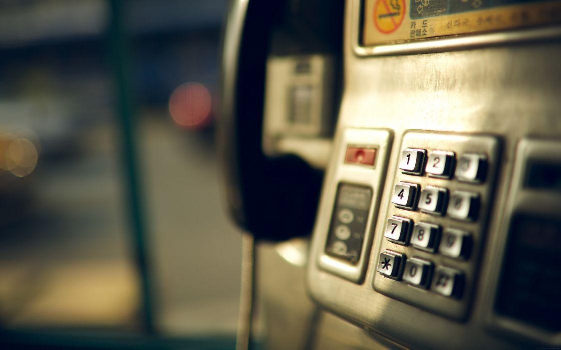 Telephone Macro Numbers Phone wallpaper