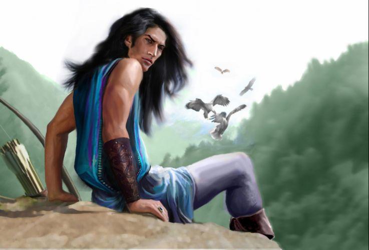 Warriors Man Fantasy wallpaper