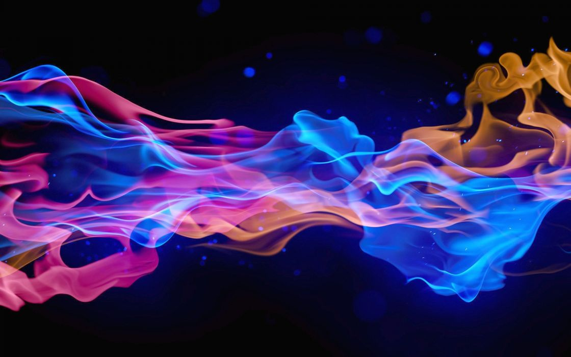abstraction color (3D) smoke wallpaper