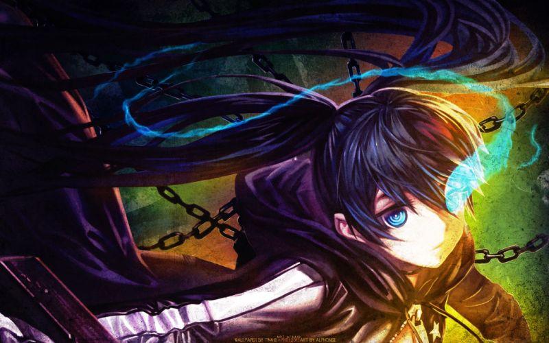 Black Rock Shooter Anime Drawing wallpaper