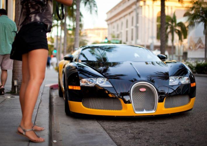 bugatti veyron car legs wallpaper