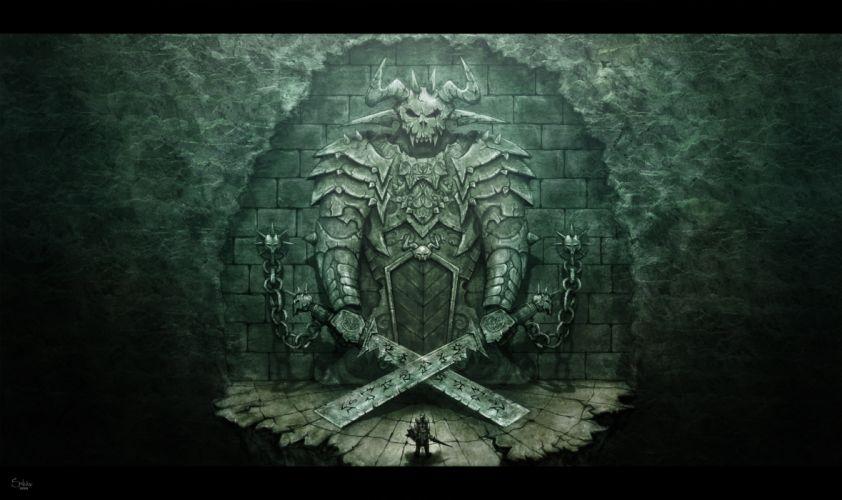 demon gate warrior wallpaper