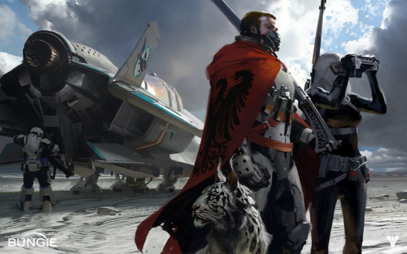 Destiny Drawing sci-fi t wallpaper