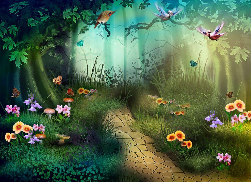digital art 3d phantasmagoria   e wallpaper