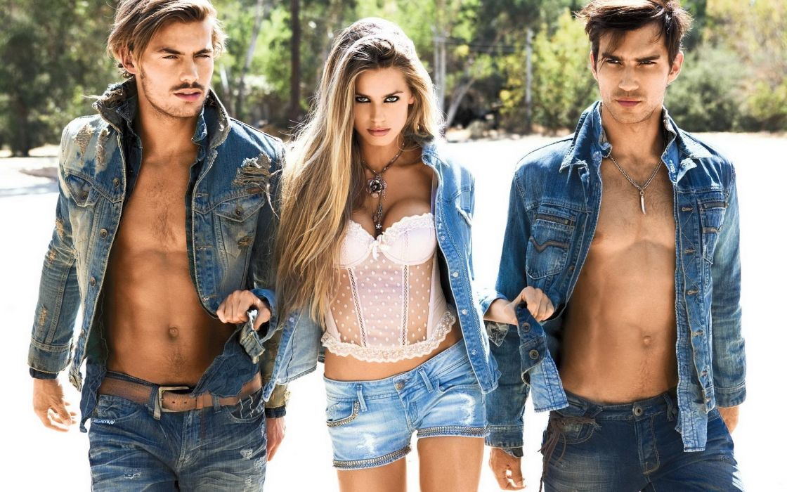 irl gorgeous beautiful dzhinsovki shorts jacket boys men wallpaper