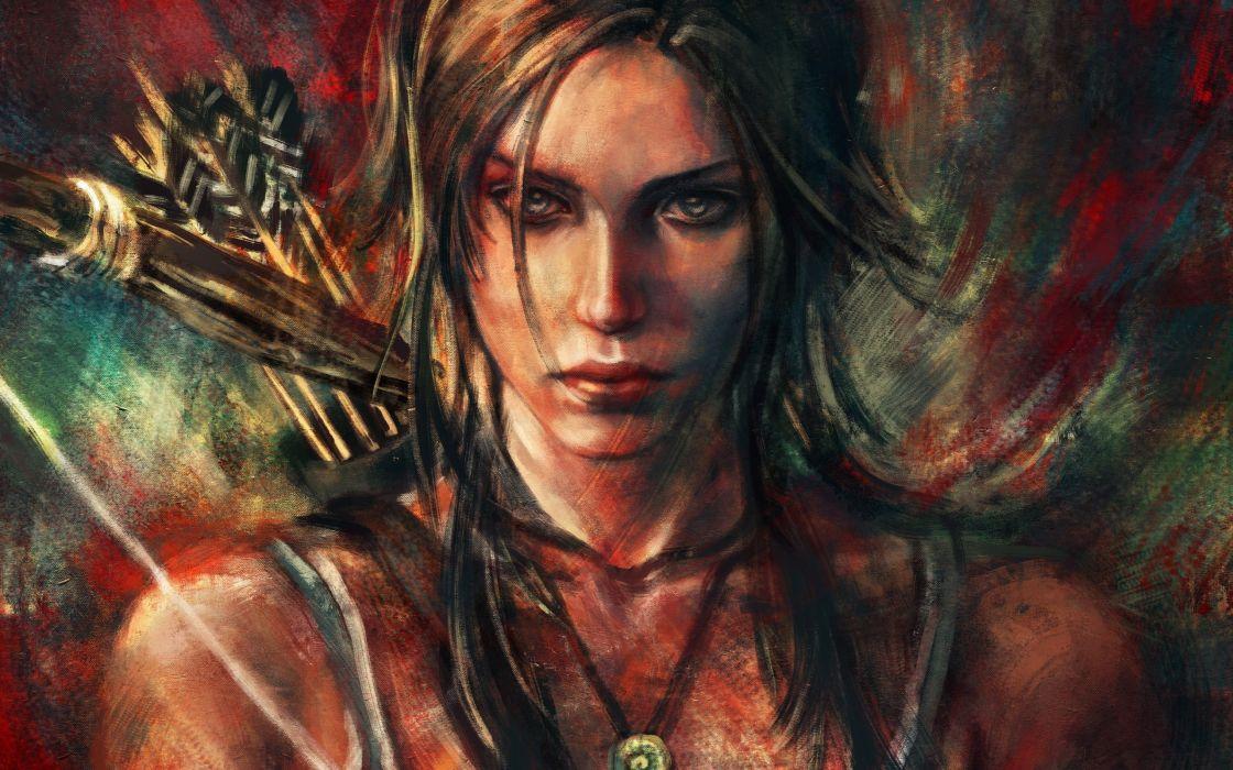 Lara Croft Tomb Raider wallpaper