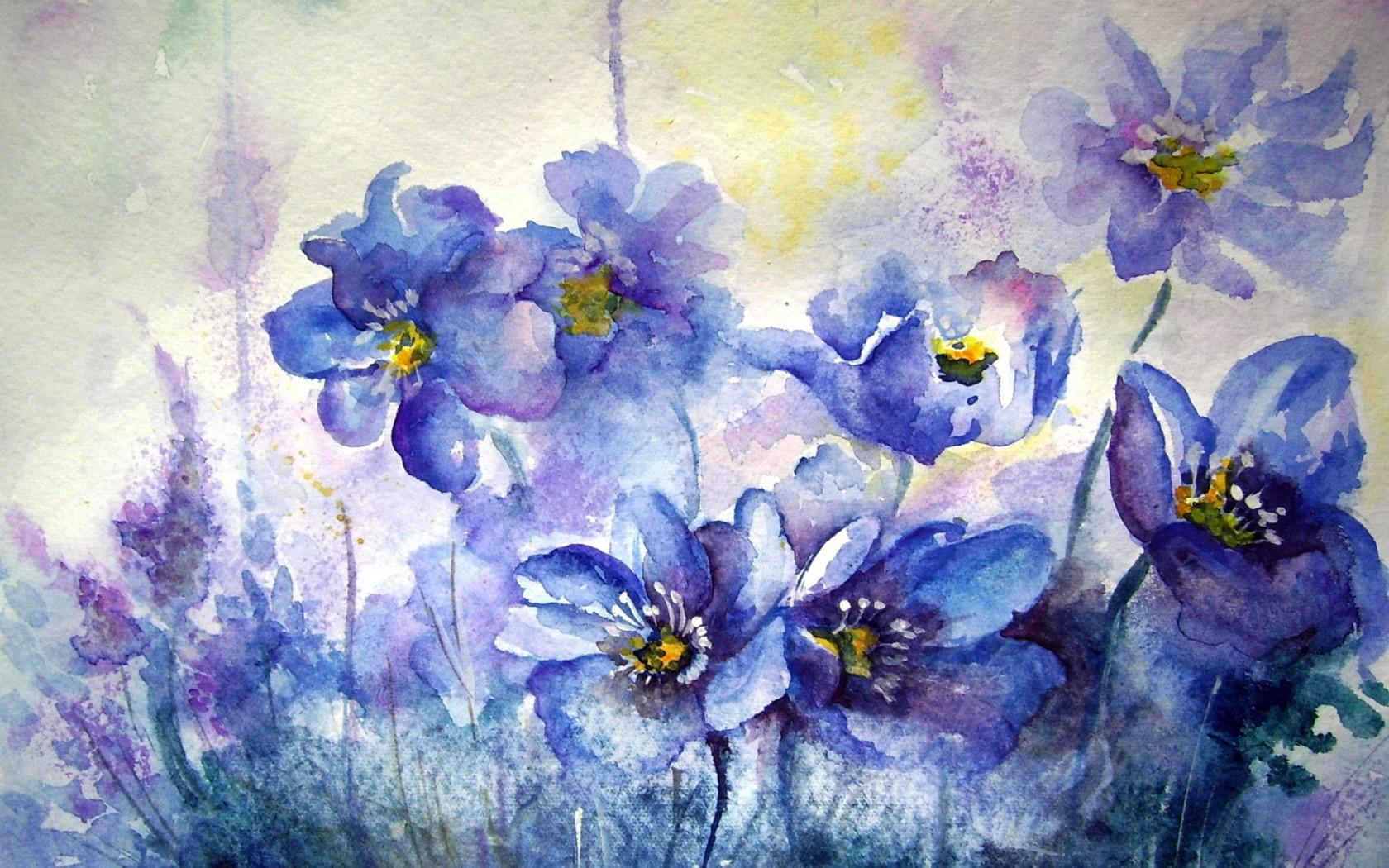 Flower Painting Watercolor