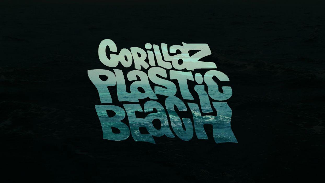 Gorillaz text wallpaper