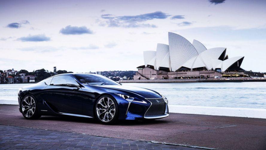 Lexus Concept Sydney Opera House Sydney Opera House wallpaper
