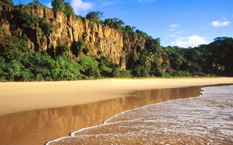 nature landscapes scenery beaches sea ocean wallpaper