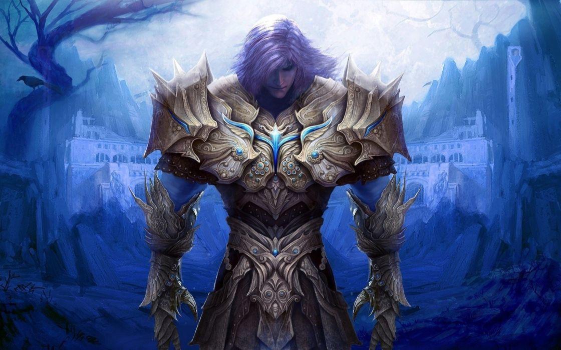 Paladin's Light - Epic Soul Factory warrior wallpaper