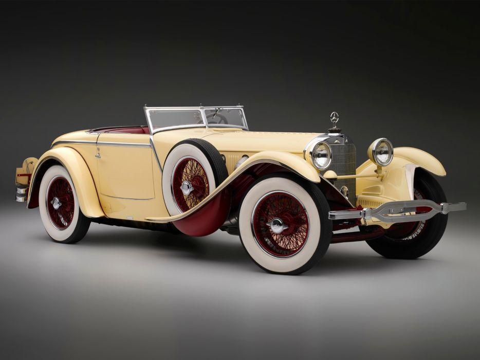 Mercedes Benz 1928 wallpaper