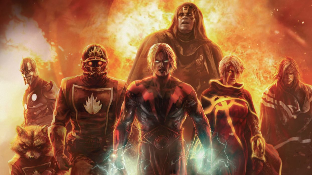 Annihilation Marvel wallpaper