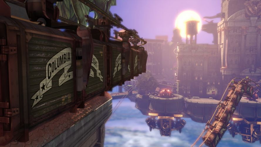 Bioshock Bioshock Infinite Steampunk sci-fi wallpaper