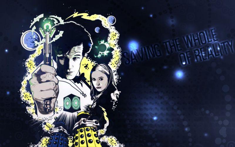 Doctor Who Sonic Screwdriver Dalek sci-fi wallpaper