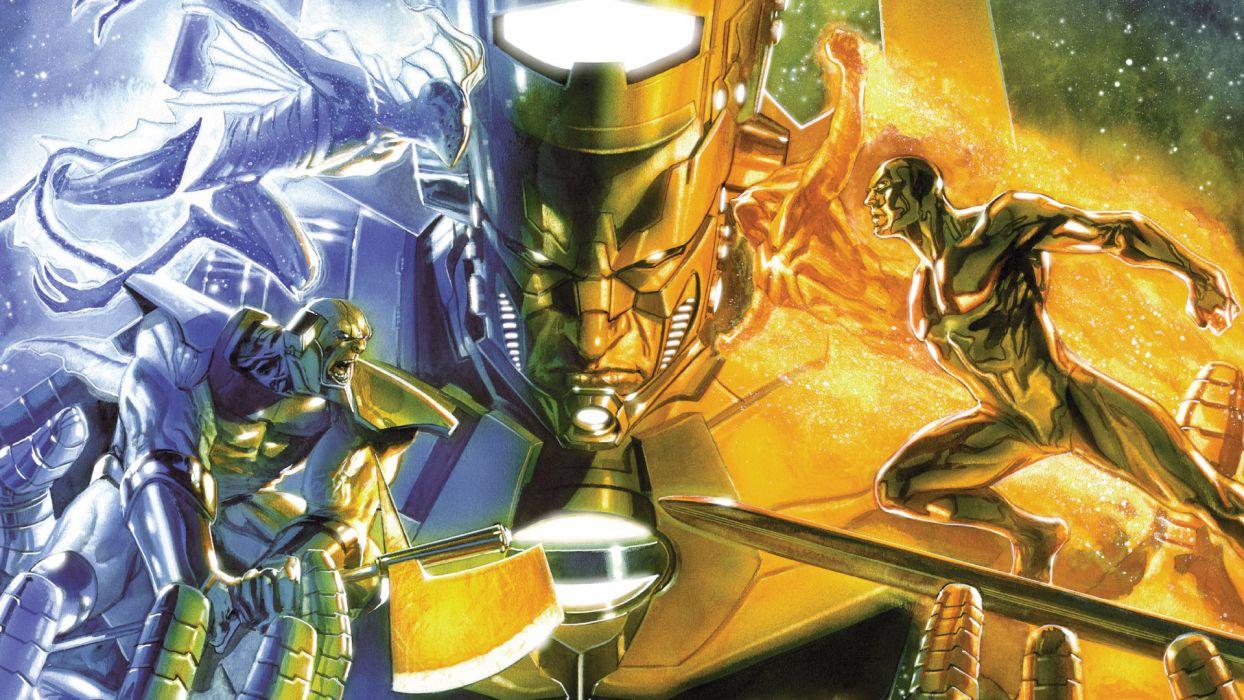 Galactus Marvel Silver Surfer Wallpaper