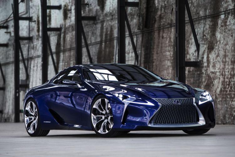 Lexus 2012 LF-LC Blue Blue Metallic Cars wallpaper