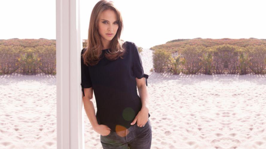 Natalie Portman women actress wallpaper