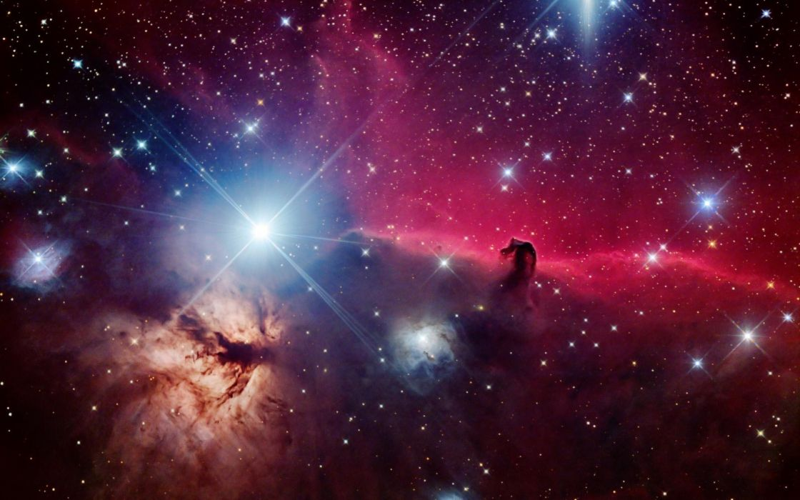 space stars beautiful nebula horsehead nebula wallpaper