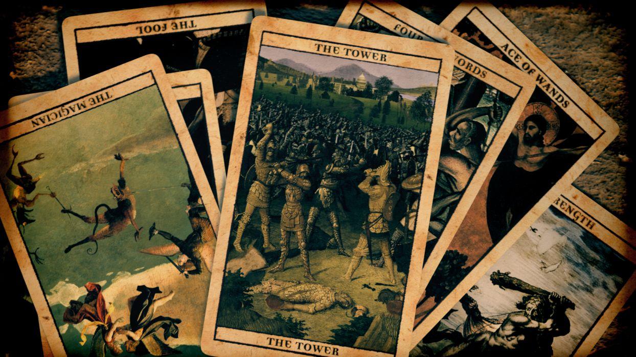 Tarot Cards Tarot dark occult wallpaper