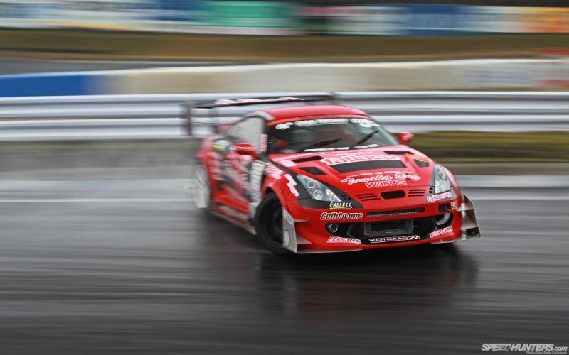 Toyota Supra Drift Motion Blur wallpaper