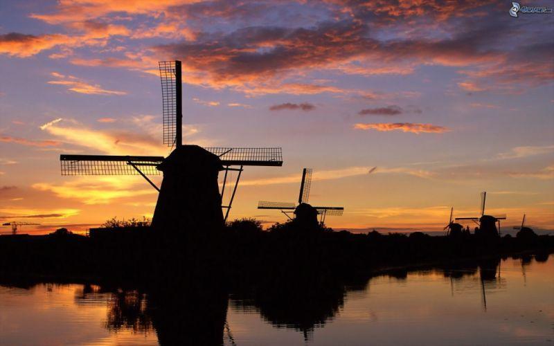 Wind Mills windmills wallpaper