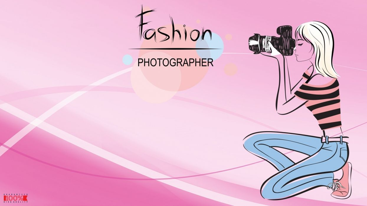 women pink vector fashion wallpaper