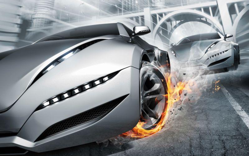 ultimate racing supercars wallpaper