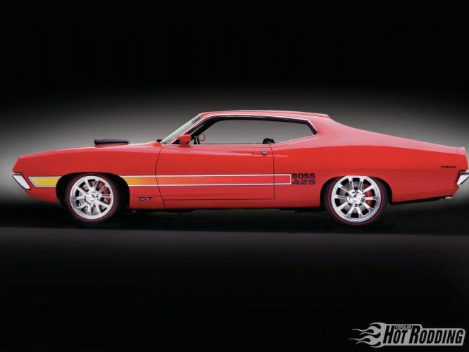 1970 Boss Torino Gt hot rod muscle cars g wallpaper