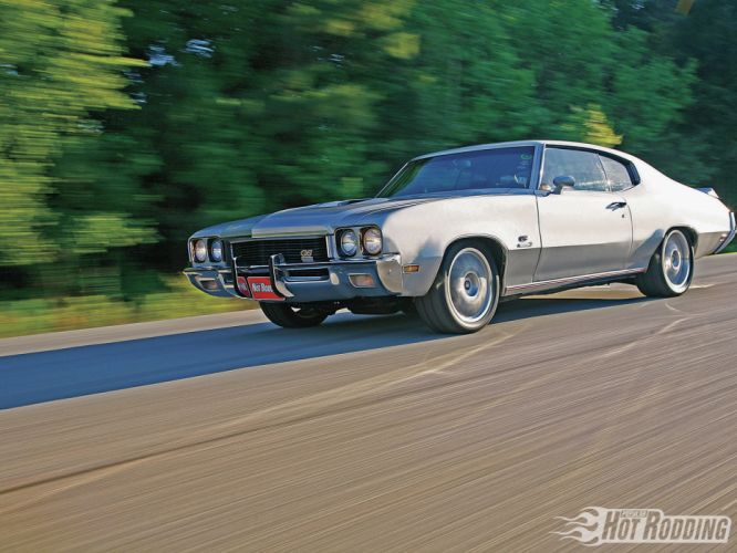 1972 Buick Gran Sport muscle cars hot rods wallpaper