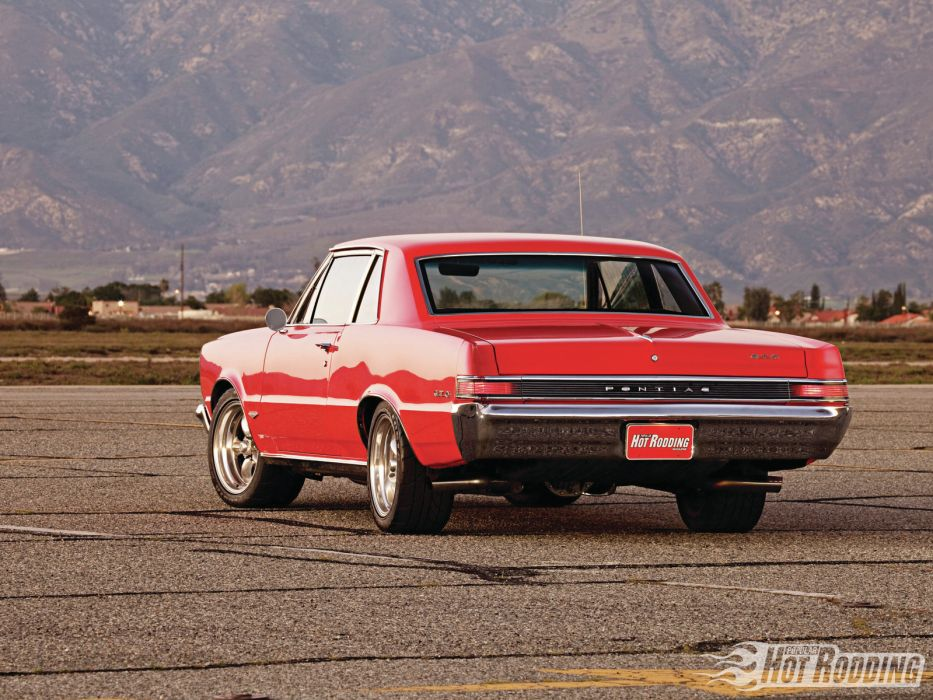 1965 Pontiac GTO hot rod muscle cars     f wallpaper
