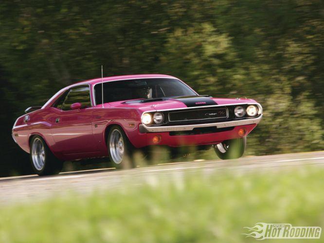 1970 Dodge Challenger Rt hot rod muscle cars wallpaper