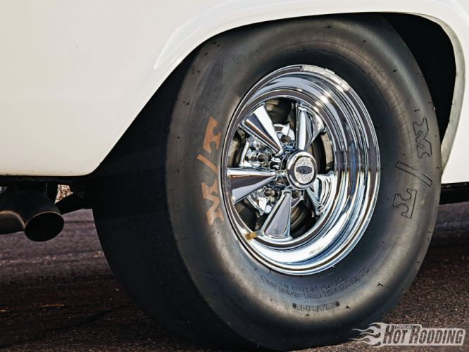 1966 Chevy Biscayne muscle cars hot rod wheel wallpaper