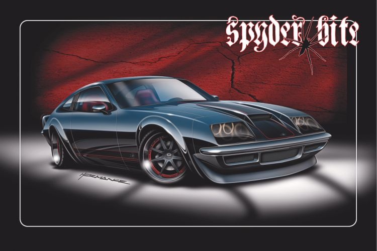 Chevy Monza hot rod muscle cars custom tuning wallpaper