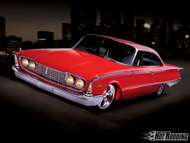 1960 Ford Starliner luxury classic hot rod lowrider wallpaper