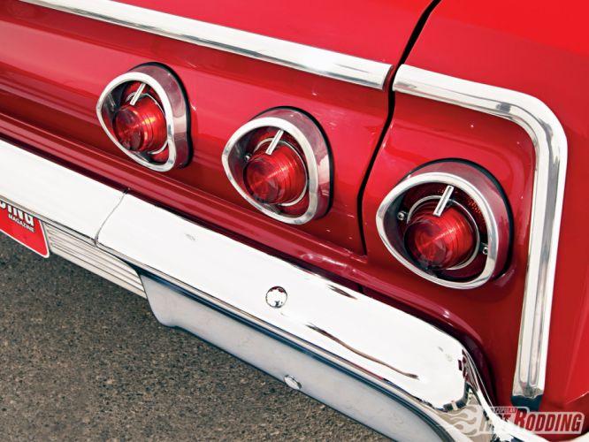 1962 Chevy Imapala hot rod muscle cars taillights wallpaper