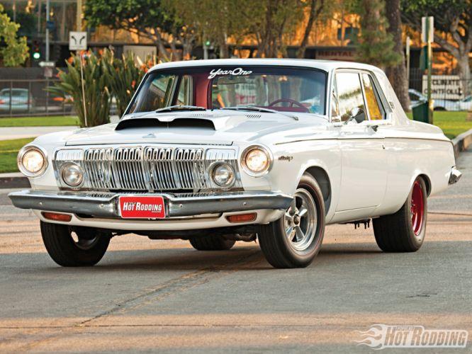 1963 Dodge 330 hot rod muscle cars d wallpaper