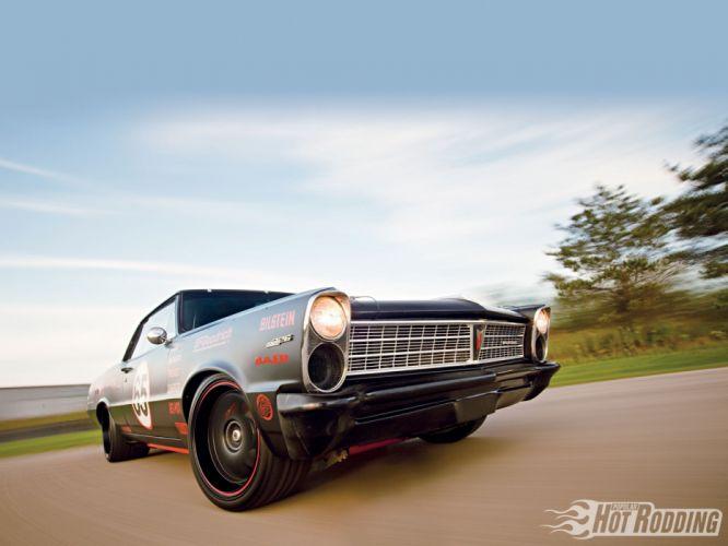 1965 Pontiac Tempest hot rod muscl cars race f wallpaper