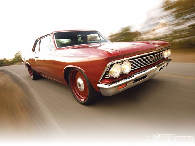 1966 Chevy Chevelle 300 muscle cars hot rod f wallpaper