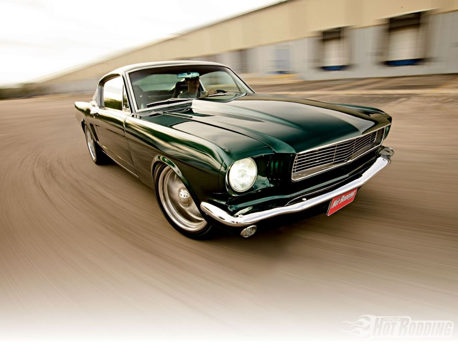 1966 Ford Mustang muscle cars hot rod wallpaper