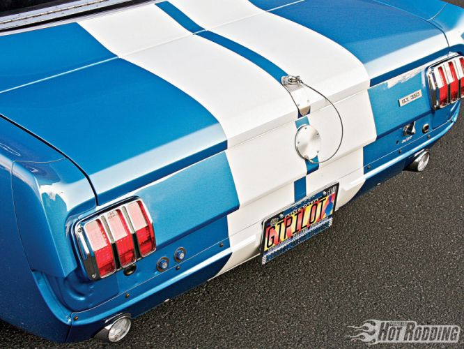 1966 Shelby GT350 hot rod muscle cars lights wallpaper