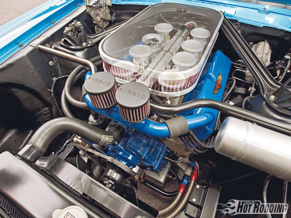 1966 Shelby GT350 hot rod muscle cars roush engine wallpaper