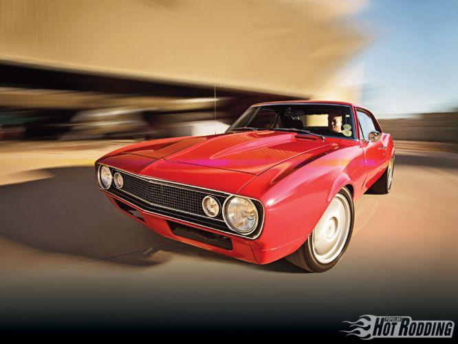 1967 Chevrolet Camaro hot rod muscle cars wallpaper