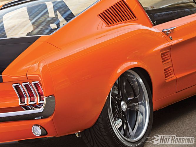 1967 Ford Mustang Fastback hot rod muscle cars taillight wallpaper