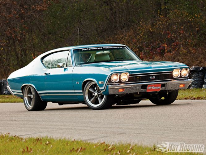 1968 Chevy Chevelle Ss muscle cars hot rod f wallpaper
