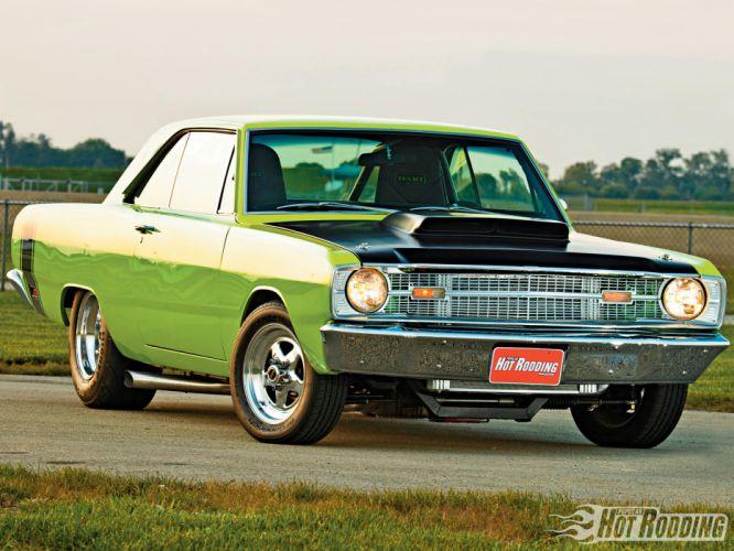 1969 Dodge Dart Gt hot rod muscle cars b wallpaper